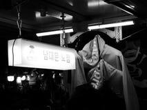 Seoel, Zuid-Korea - 08 05 18: de kleding van de straatbox Opperst in Azië royalty-vrije stock foto's