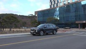 Seoel, Zuid-Korea 15 December, 2018 Nieuwe Hyundai-Palissade 2018 stock video