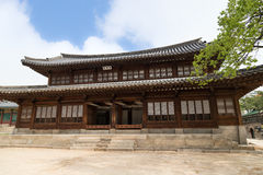 Seogeodang Hall am Deoksugungs-Palast in Seoul Stockbilder