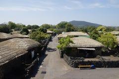 Seongeup Folk Village, Jeju, Korea Stock Image