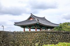 The Seongeup Folk Village in Seogwipo in the Jeju Special Admini. Strative Province, South Korea Stock Images