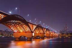 Seongsan桥梁 库存图片