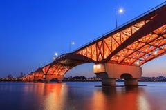 Seongsan桥梁 库存照片