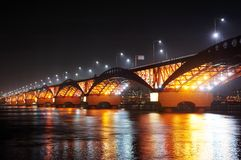 SeongSan Bridge. Royalty Free Stock Photos