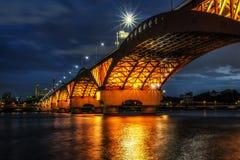 Seongsan Bridge royalty free stock photography