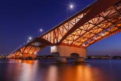 Seongsan bridge. stock photos