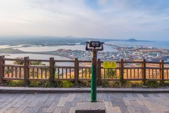 Seongsan Ilchulbong , Jeju Island , South Korea. Seongsan Ilchulbong , Jeju Island , South Korea Stock Photos
