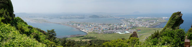 Seongsan Ilchulbong, Jeju, South Korea Royalty Free Stock Photography