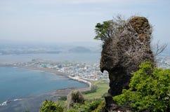 Seongsan Ilchulbong, Jeju, South Korea Royalty Free Stock Photos