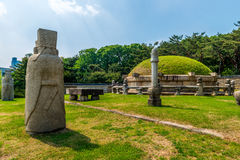 Seonjeongneung Królewscy grobowowie zdjęcia royalty free