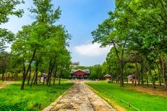 Seonjeongneung Royal Tombs Royalty Free Stock Photo