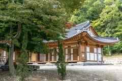 Seonunsa tempel Royaltyfria Foton
