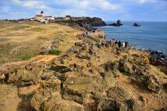 Seopjikopji wybrzeże zdjęcie royalty free