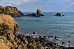 Seopjikopji wybrzeże fotografia stock