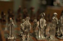 Señor del ajedrez de los anillos Imagen de archivo