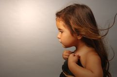 Señora joven Imagen de archivo libre de regalías