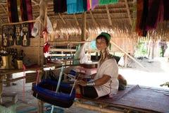 Señora larga del cuello Foto de archivo libre de regalías