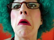 Señora mayor de Agast Imagen de archivo libre de regalías