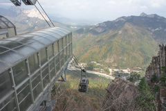 Seoraksan Cable Car Royalty Free Stock Photo
