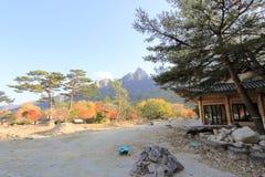 Seoraksan nationaal park Stock Foto's