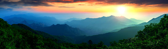 Seoraksan National Park, The best of Mountain in Korea. Stock Photo