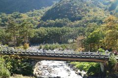 Seoraksan National Park, River in Seoul, South Korea, Sokcho, Gangwon-do royalty free stock images