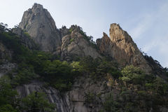 Seoraksan National Park, South Korea Royalty Free Stock Photography
