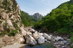 Seoraksan National Park, South Korea Stock Photography