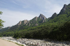 Seoraksan National Park, South Korea Royalty Free Stock Photos