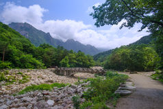 Seoraksan National Park, South Korea Royalty Free Stock Photography
