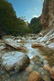 Seoraksan Peak Stream Pool Royalty Free Stock Photo