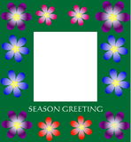 Seoson greeting card Stock Images
