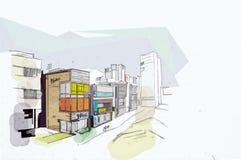 Seoul Foto de Stock Royalty Free