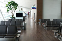 Seoul airport. Deserted lounge at Seoul (Incheon) airport, South Korea Stock Photo