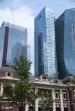 Seoul alt und neu Lizenzfreies Stockbild