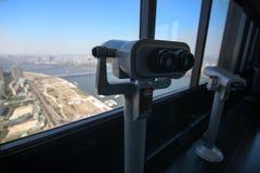 Seoul-Ansicht von 63 errichtend Lizenzfreie Stockbilder