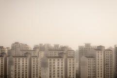 Seoul Apartments Royalty Free Stock Photos