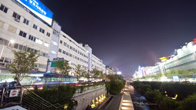 Seoul - artificial river Royalty Free Stock Photography