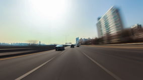 Seoul City Driving Stock Images