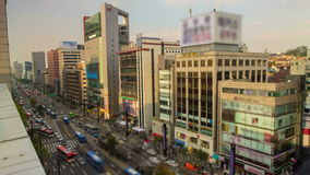 Seoul City Gangnam Downtown Royalty Free Stock Photography