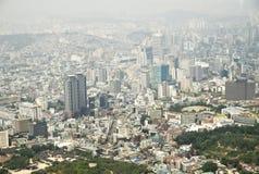 Seoul city of Korea Stock Photo
