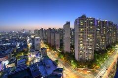 Seoul city, Korea royalty free stock photos