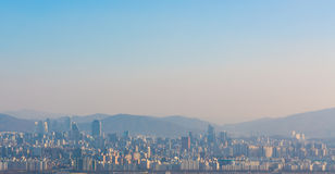 Seoul city of Korea Royalty Free Stock Image