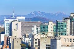 Seoul city Stock Images