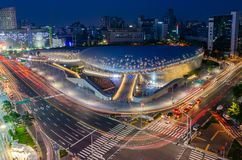 Seoul City Skyline,South Korea stock photo