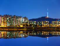 Seoul city in South Korea Stock Photos