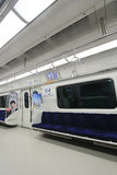 Seoul city train Stock Photo