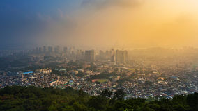 Seoul city Stock Images