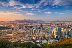 Seoul. Royalty Free Stock Images