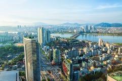 Seoul Cityscape Stock Photos